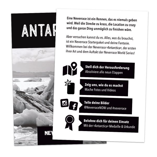 Kurzanleitung - Neverrace Antarctica