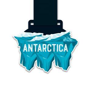 Medaille - Neverrace Antarctica