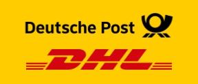 Sicherer Versand mit Deutsche Post und DHL