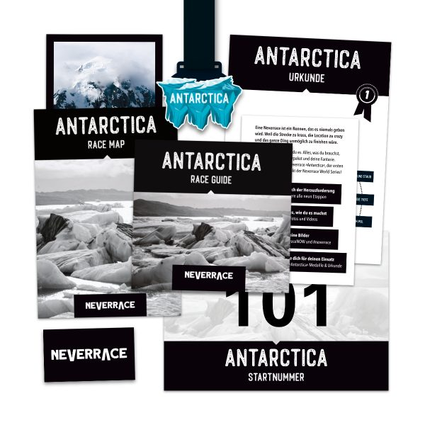 Starterpaket Neverrace Antarctica