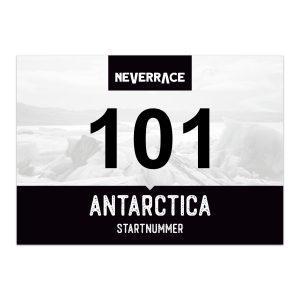 Startnummer - Neverrace Antarctica